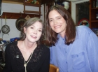 Denice with Nanci Griffith